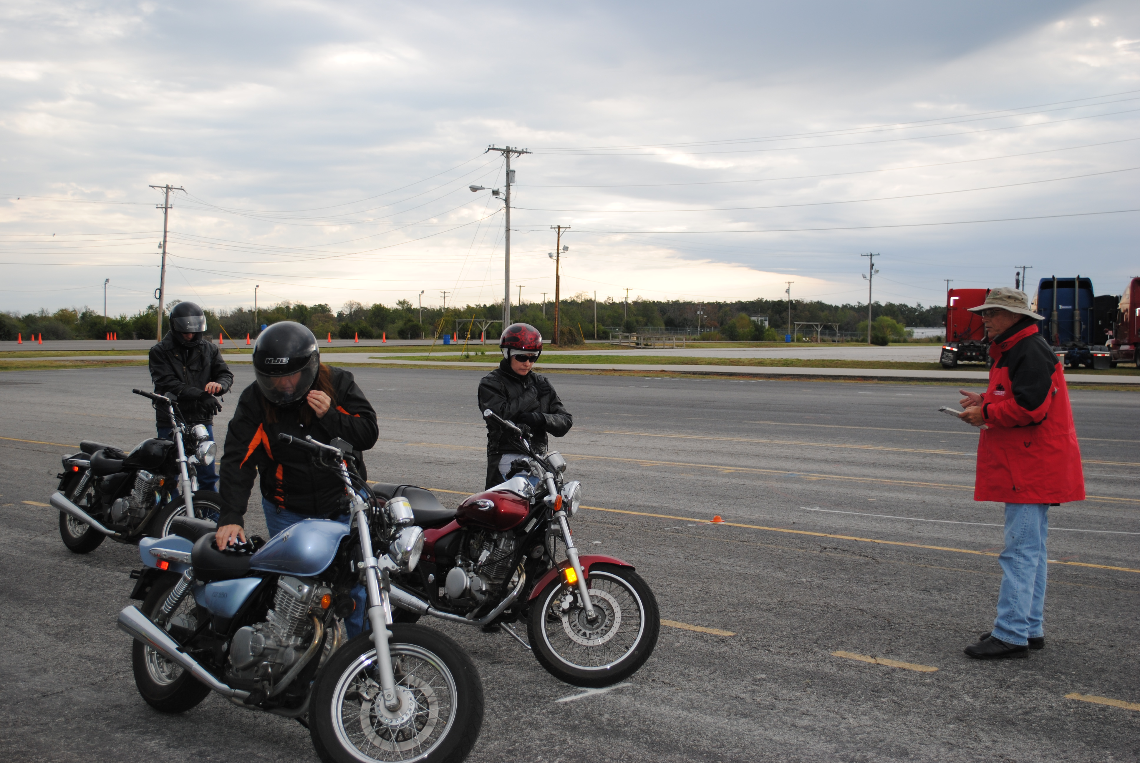 Motorcycle Course Teaches Safety