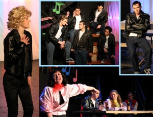 Grease Collage