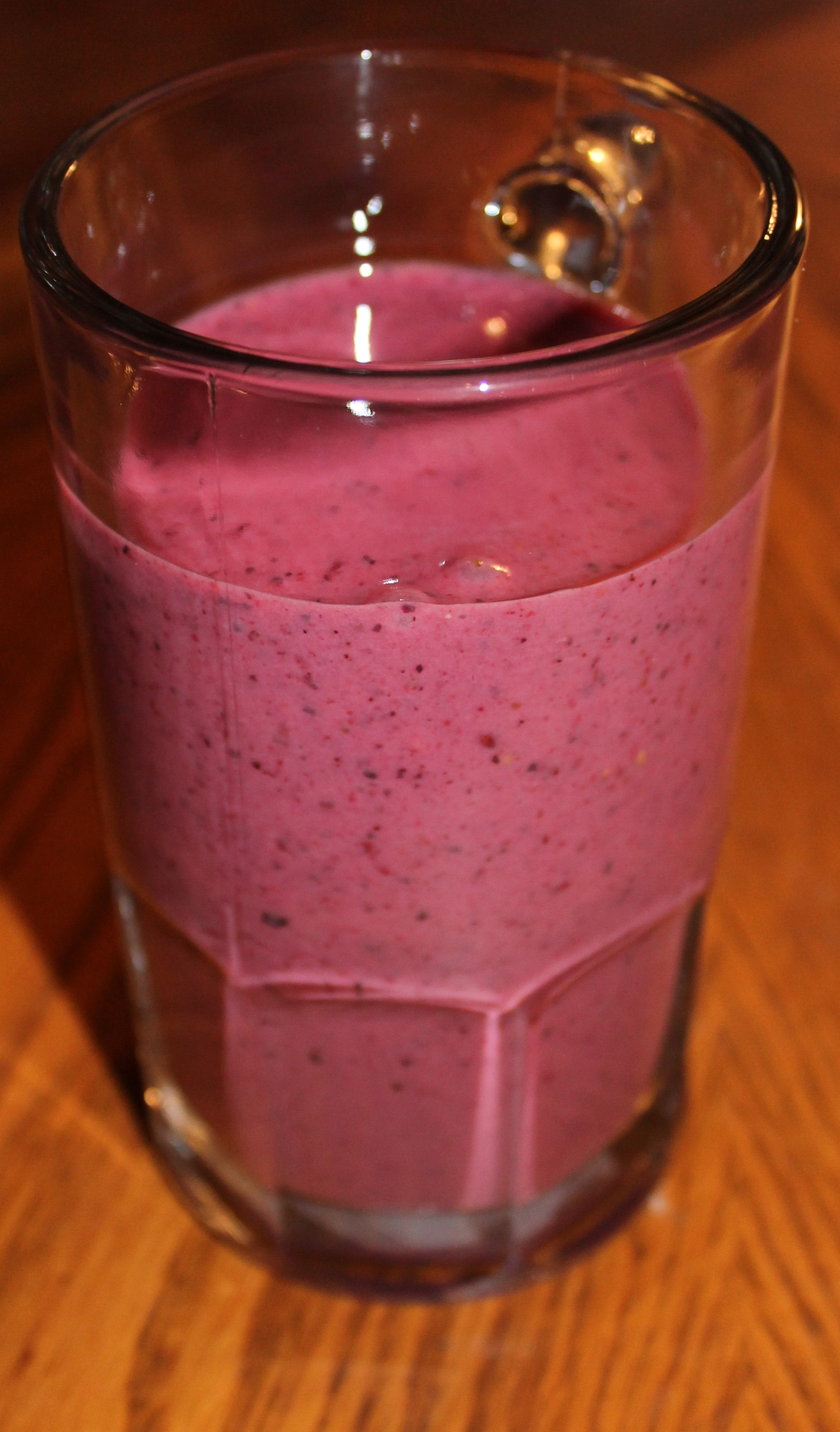 Cherry, Banana, And Mixed Berry Smoothie Recipe — Dishmaps