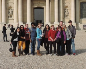Photo contributed The Crowder group visited the Hotel des Invalides during their tour of Paris. From left to right: Liliana Ruiz, Tori Wood, Lindsay Sreaves, Whistler Rho, Samantha Burnett, Celina Hernandez, Lisha Reynolds, Nina Beaver, William Lenz, Alicia Caldwell and Colton Cutchens.