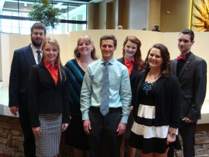 Photo contributed Phi Beta Lambda attended the state business competition in Columbia, Mo. on April 12, where four students qualified to compete in nationals.