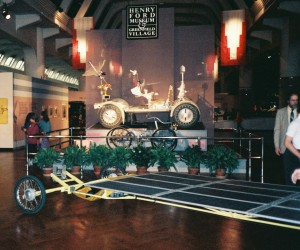 Photo contributed The Trans-American Solar Auto Run is now displayed in the Henry Ford Museum, right next to the Moon Rover.