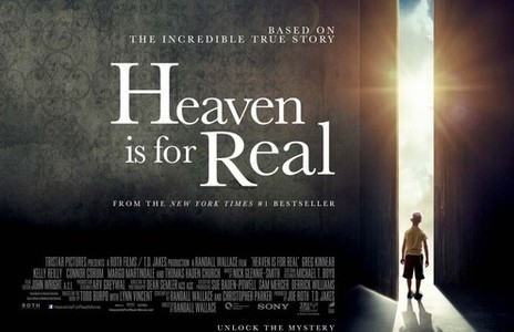 The movie to Heaven Is for Real, although not completely true to the book, exceeds expectations.