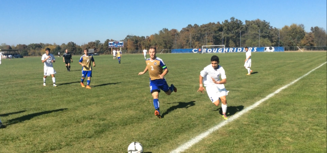 The Roughrider soccer team hosted East Central Community College in the quarterfinals of the National Junior College Athletics Association (NJCAA) tournament on Saturday, Oct. 25.