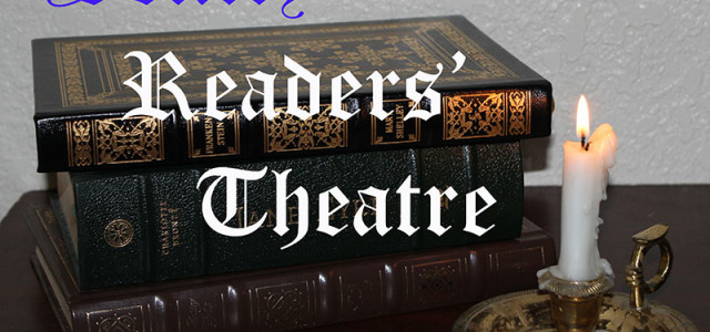 """Sentry Readers' Theatre presents an excerpt from """"The Tenant of Wildfell Hall"""" by Anne Bronte."""