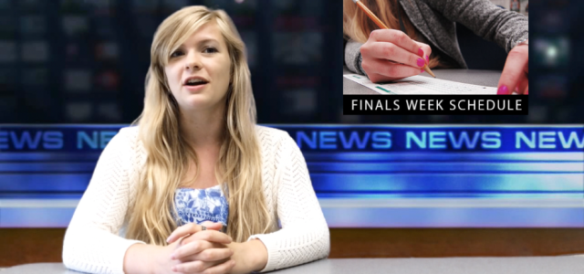 The Crowder Sentry hosts its Finals Edition broadcast of CS News Weekly. This edition showcases upcoming events, sports, and weather. Hosted by Drew Young and Kate Kelley.