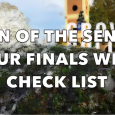 """This week's """"Turn of the Sentry"""" episode provides a comic guide to surviving finals, starring Jackson Lewis and Sarah Aulick."""