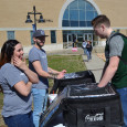 Volunteers from Cross Church in Neosho provide sandwiches from Chik-Fil-A to Crowder Neosho students every Monday, starting about 11:30 a.m.