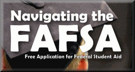 Crowder College hosted a series of FAFSA workshops over the Spring 2016 semester to help students apply for financial aid to attend college. About 60-percent of all college students receive some form of financial aid.