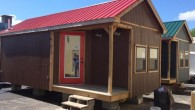 The Crowder Construction Technology Program will be selling two cabins  that were completed in the class to the highest bidder.