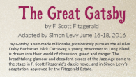 Crowder College Theatre presents the Great Gatsby June 16 through June 18.