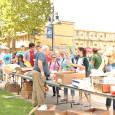 During the first week of classes, Crowder hosted the annual club rush event on the quad.