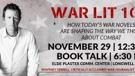 "Missouri author Whitney Terrell will be on campus November 29th to discuss his latest book, ""The Good Lieutenant""."