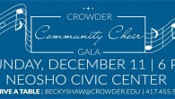 The Crowder College has a performance on December 11.