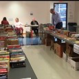 The Friends of the Lee Library hosted their annual fundraising book sale from April 11-13 in the Wright Conference Center in Farber Hall. The books were donated by the general public to the Friends of the Library to assist in raising money for the group.
