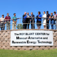 The Missouri Alternative and Renewable Energy Technology (MARET) Center was officially named for Senator Roy Blunt on Sept. 1 on the Neosho campus.