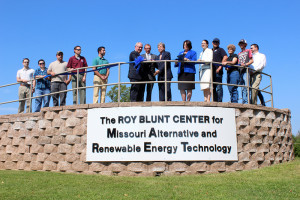 As the MARET Center celebrates its fifth anniversary, it is renamed the Roy Blunt Center for Missouri Alternative and Renewable Energy Technology. Photo by Jesse O. Walls/Multimedia Editor