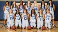 The Lady Roughriders play Mineral Area College on Feb. 10. Photo provided by Crowder College